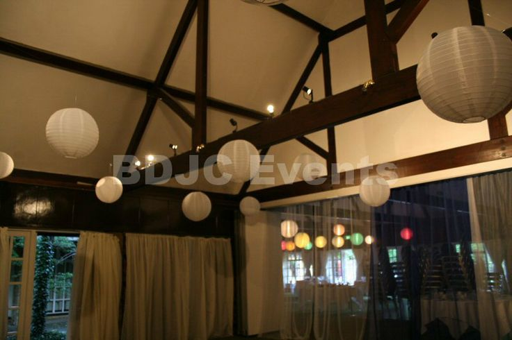 Paper lantern canopy hire   #bdjcevents #eventlighting #partylighting #venuedressing #ledtablecentres #paperlanterncanopy