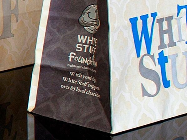 Kraft Paper Carrier Bags - White Stuff