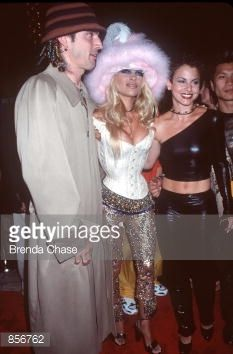 New York NY Tommy Lee Pamela Anderson and her 'VIP' costar Natalie Raitano at the MTV Video Music Awards Photo by Brenda Chase/Online USA Inc