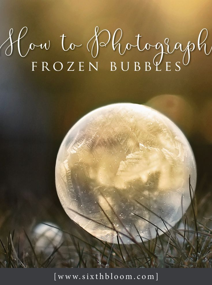 Photography Tips, Take pictures of frozen bubbles, photograph frozen bubbles, steam activity,