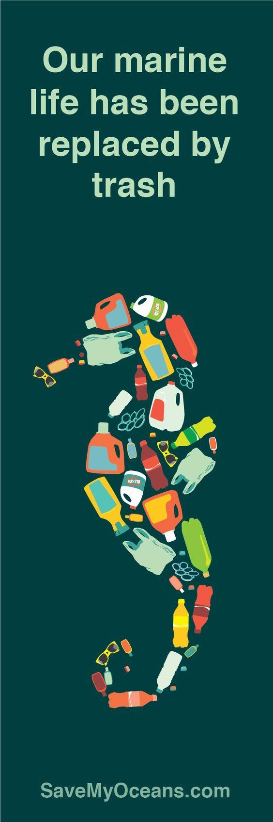 Help save this planet! Go plastic free - Plastik frei!