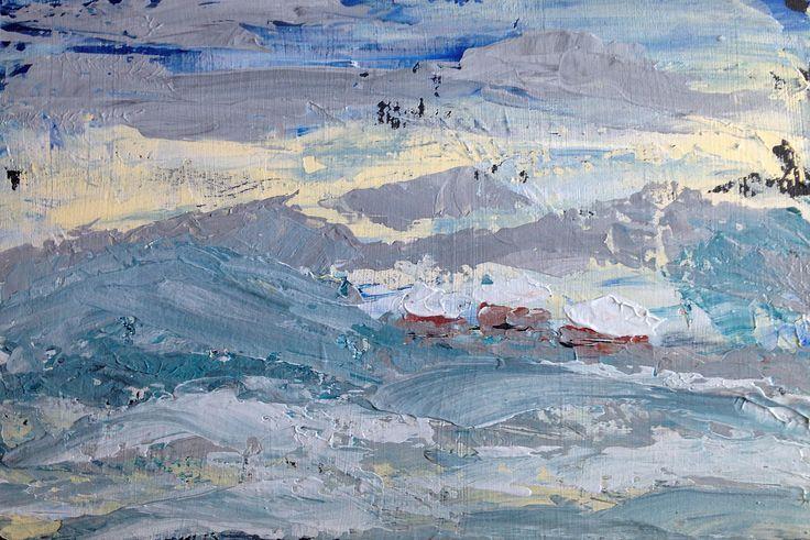 Jacek Sikora ( #Siccora ) WINTER AT NOWINA, 2012, Acrylic on canvas, 20 x 30 cm #art #contemporary #fineart #canvas #abstract #abstractart #abstractpainting #abstraction #painting #contemporaryart #deep #design #loveart #visualartist #modern #buyart #abstract #impression