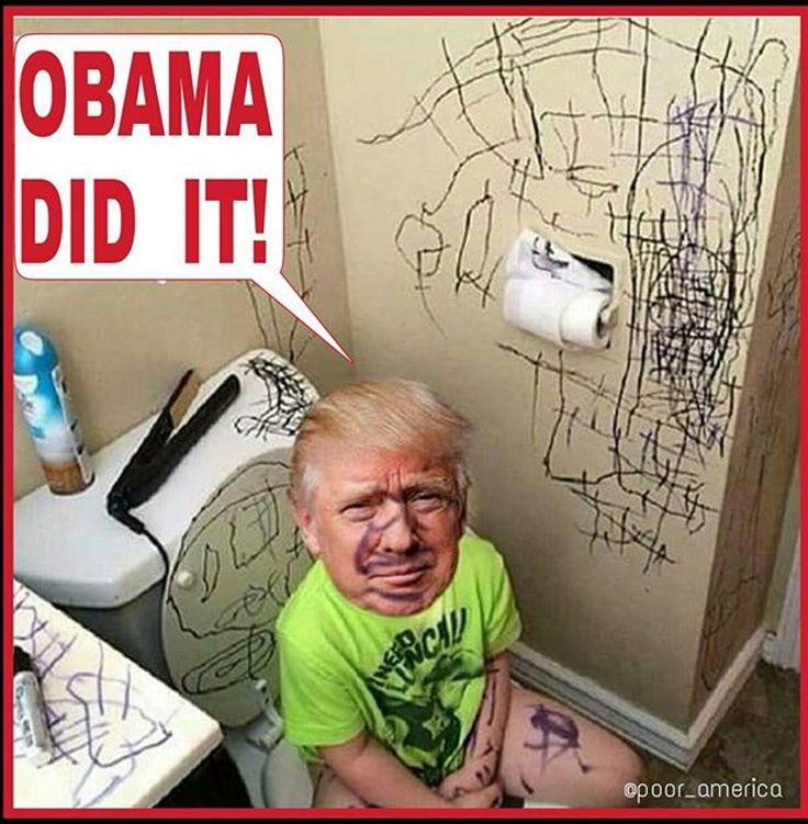Funny Memes Cartoon Trump