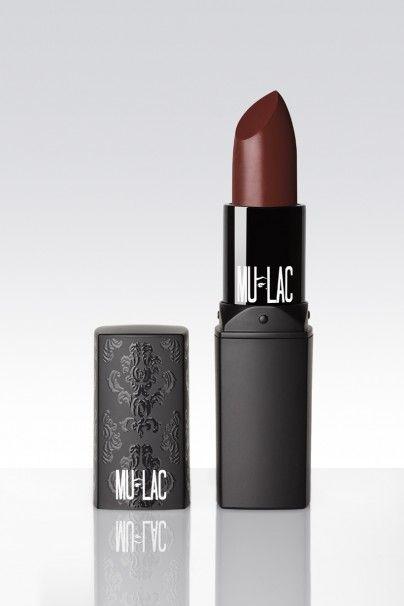 """Mulac lipstick in """"Wonka"""". Un color cioccolato con una punta di rosso davvero stupendo!"""