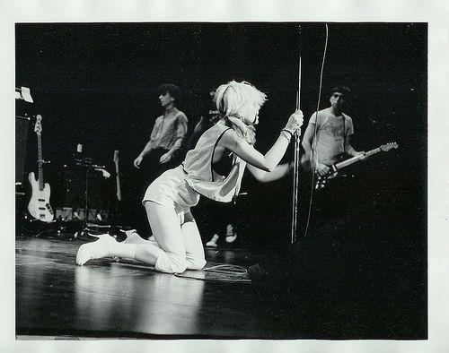 Blondie at CBGB, NEW YORK, 15 August 1975