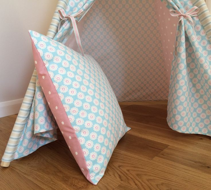 Large Floor Cushions - to accessorise our Childrens Teepees - available in 7 different cushion combinations  - Handmade to order by PosieandPea on Etsy https://www.etsy.com/uk/listing/468995196/large-floor-cushions-to-accessorise-our