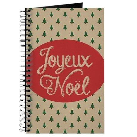 Joyeux Noel - Merry Christmas in French Journal