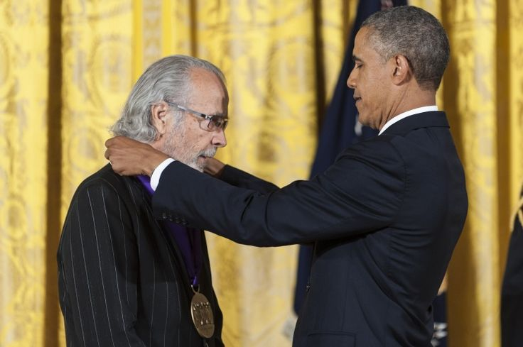 Herb Alpert And Barack Obama | GRAMMY.com: Photo