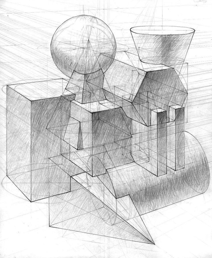 архитектурная графика примеры вступительных работ отдельная