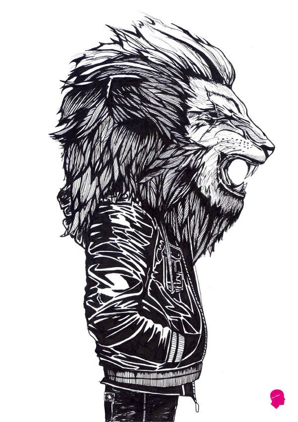 ANIMAL TENDENCIES by Marlo Guanlao, via Behance