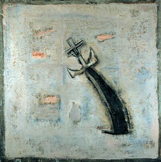 Juan Soriano. Lupe Marín, 1962, Óleo sobre Tela, 90 x 88.7 cm.
