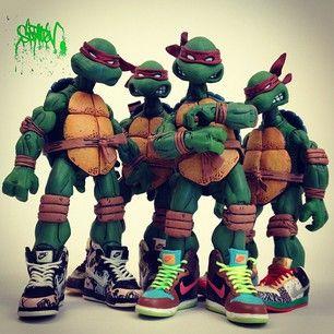 Santlov - Instagram Sneakers TMNT 4