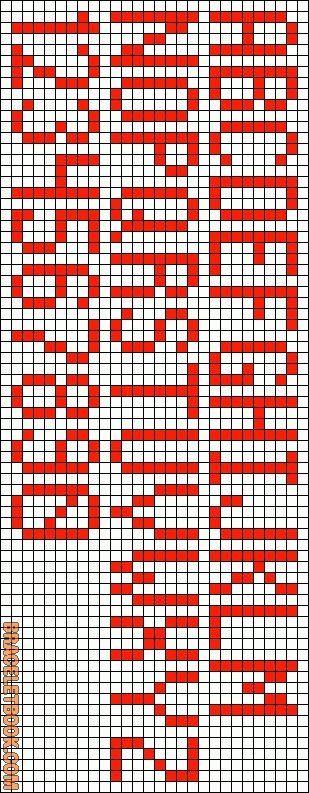 macrame lettering