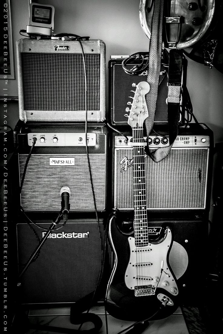 """Tonehenge!I call my pile of low wattage tube amps """"Tonehenge"""". :DThe two main """"sarcens"""" ar the 2012 Marshall 50th Anniversary JTM-1C, and the 1968 drip edge Fender Vibro Champ. Playing """"lintel"""" to the sarcens is the tweed 1957 Fender Champ and Blackstar HT-1.The guitar is my 1988 Fender American Standard Stratocaster."""