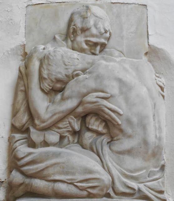 in memoria di Ugo Schiesari, Virgilio Milani, cimitero di Rovigo