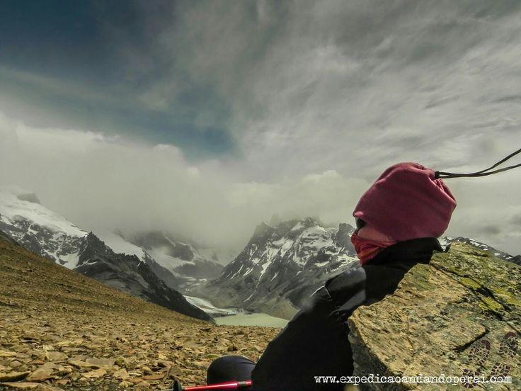 Loma del Pliegue Tumbado em El Chalten na Argentina