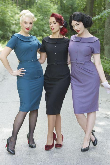 Vintage @ Pinup-fashion.nl - Vintage Kleding, Jurken en meer
