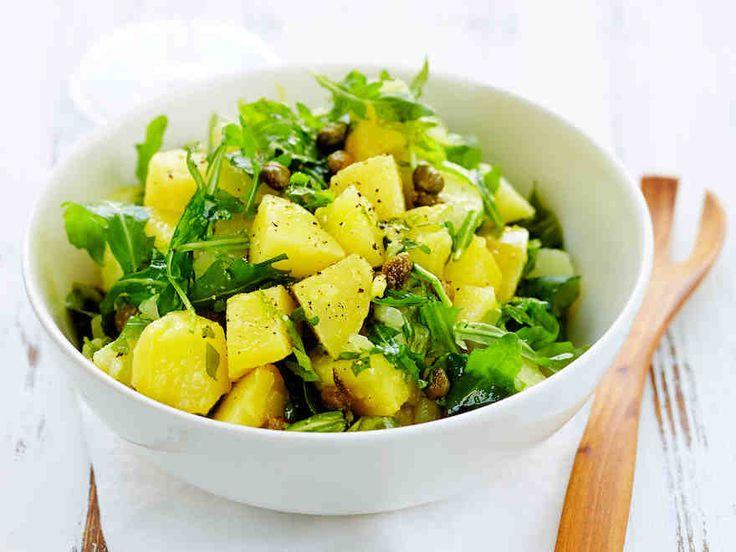 Rucola-perunasalaatti
