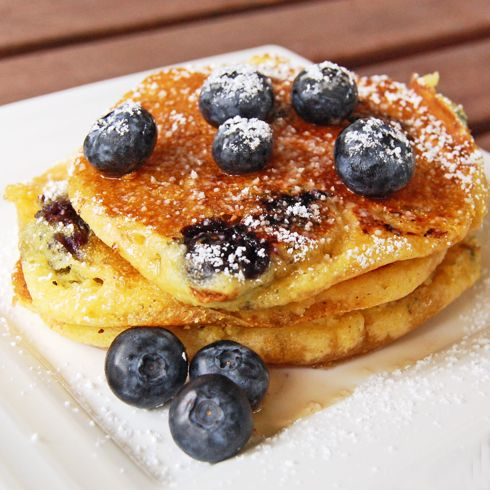 Pancakes Di Mirtilli Sani su Pinterest | Pancake Di Mirtilli, Pancake ...
