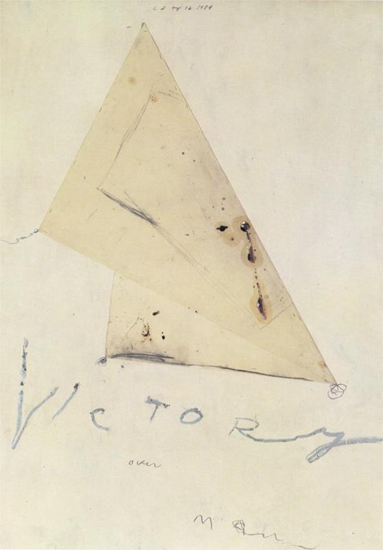 Victory//Cy Twombly