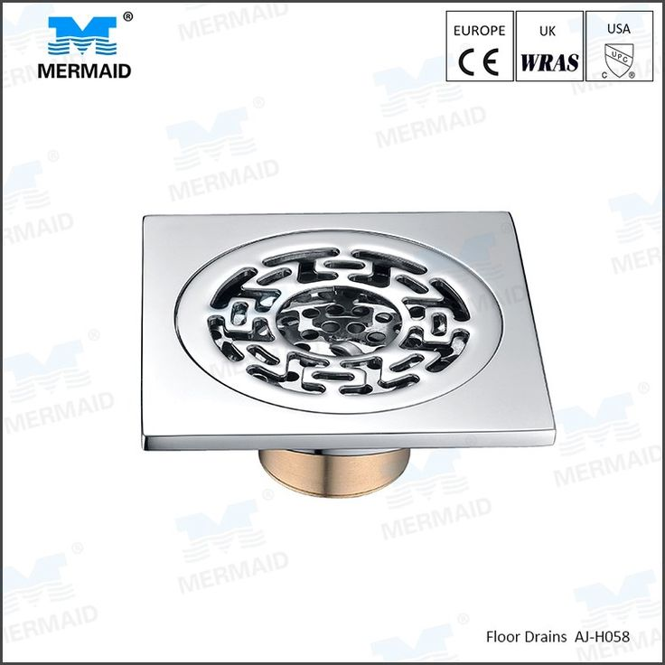 Hot sell Artistic Brass Bathroom Square Floor Drain Trap Waste Grate With  Hair Strainer Washing Machine floor drains  You can get more details about  floor. 17 best ideas about Floor Drains on Pinterest   Shower drain