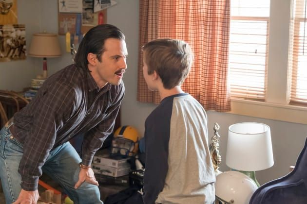Jack and Kevin - This Is Us Season 2 Episode 4 - TV Fanatic