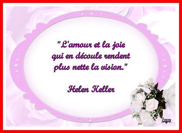 Citation d'Helen Keller - Frawsy