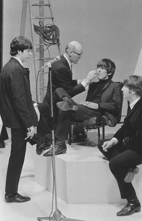 Paul McCartney, George Harrison, and John Lennon