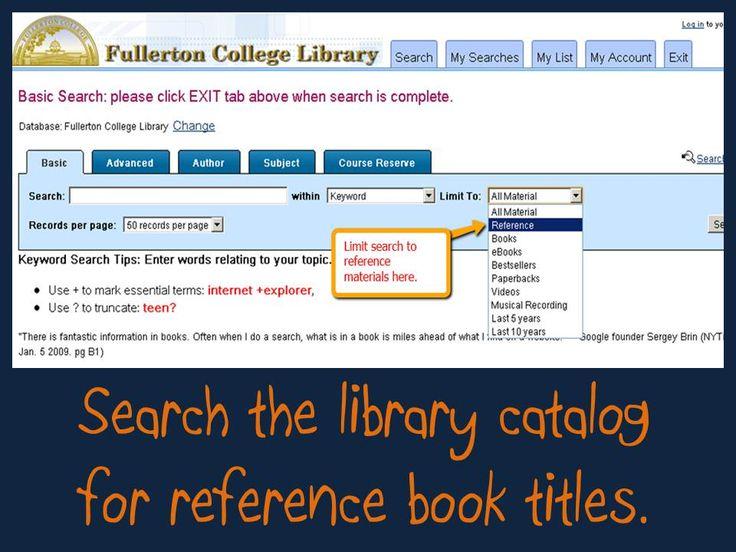 FC Library Catalog