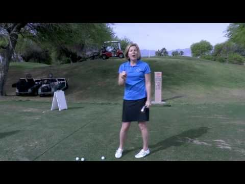LPGA Learning Center: Hitting to your target | *think about your target*