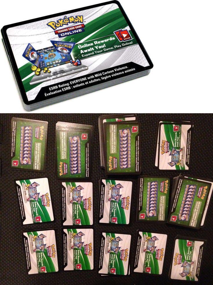 Pok mon Mixed Card Lots 104049: Pokemon Tcg Online Code Card Lot Standard Format X 250 -> BUY IT NOW ONLY: $114 on eBay!