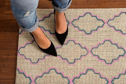 Glam Up a Boring Rug