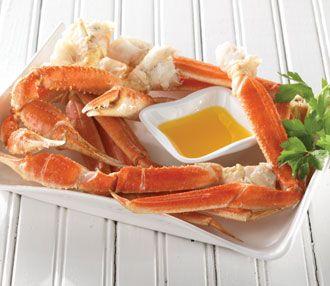 Boiled Alaskan Snow Crab - http://www.food.com/recipe/boiled-alaskan-snow-crab-108906