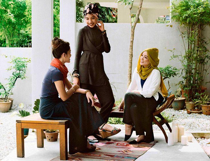 Uniqlo+diseña+una+colección+para+las+mujeres+árabes