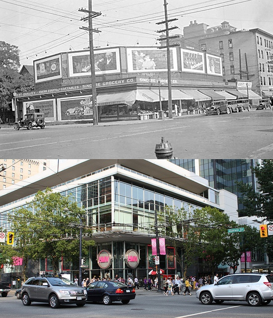 Robson and Burrard  - 1925/2010