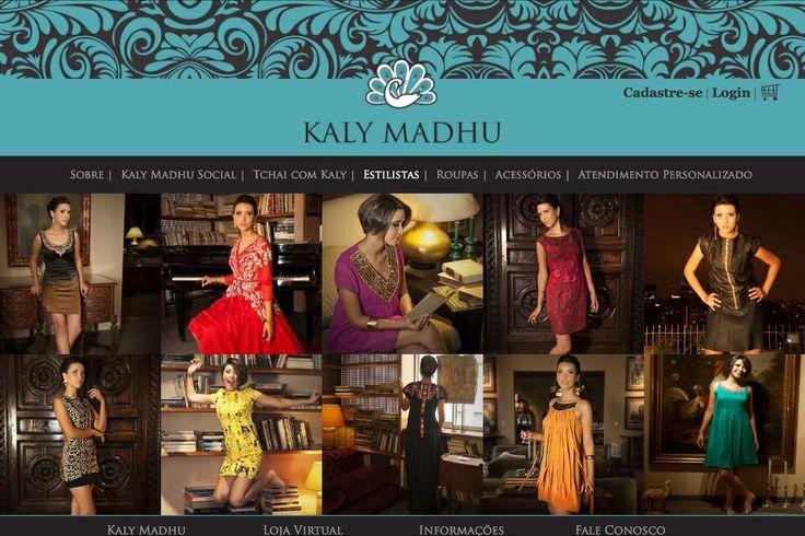 Portal Kaly Madhu no ar!! Descubra a sofisticação da Alta Costura Indiana! Acessem: www.kalymadhu.com.br