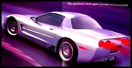 2001 ORIGINAL Chevy Corvette Z06 Brochure FREE SHIP