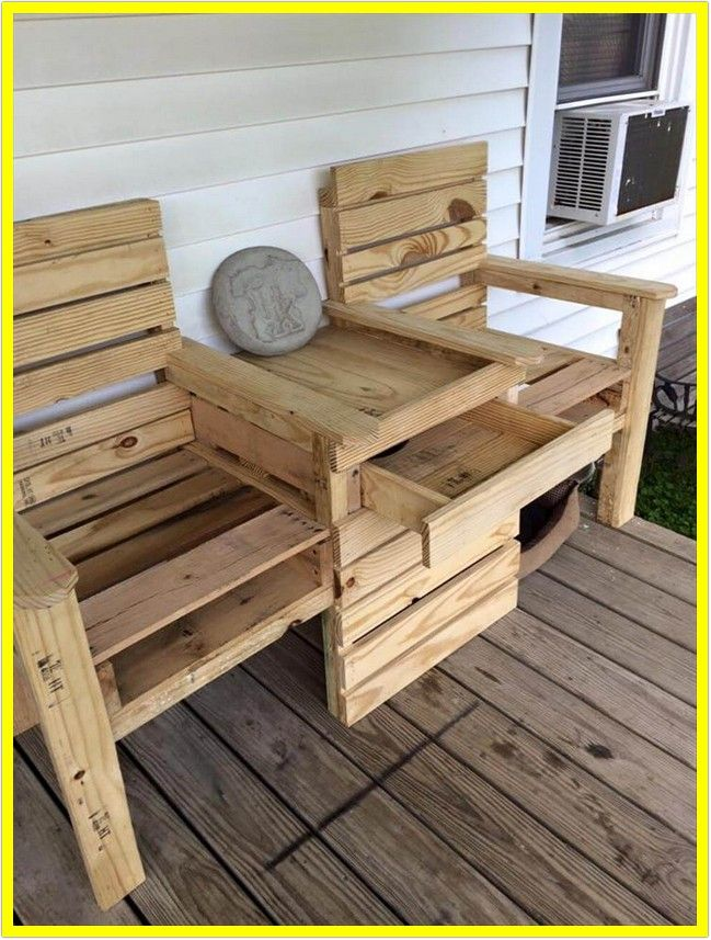 94 Reference Of Small Wooden Deck Chair In 2020 Wooden Pallet Furniture Diy Pallet Furniture Pallet Projects Furniture