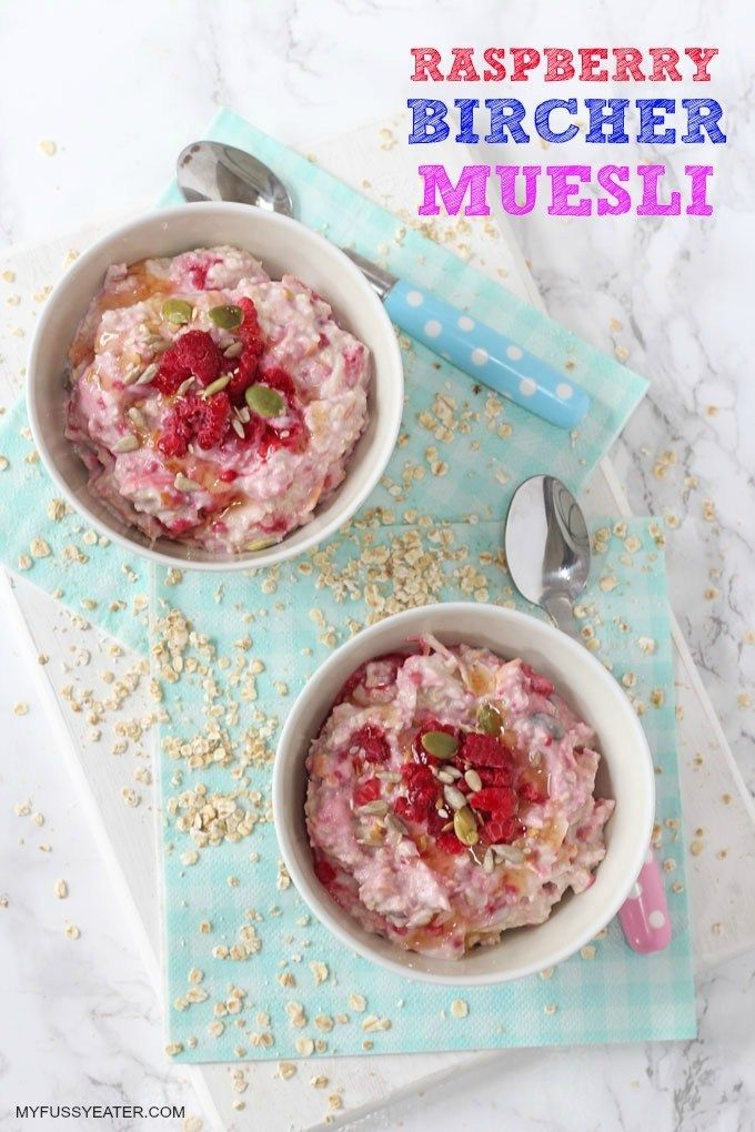 A simple but super easy breakfast for kids packed with oats, seeds, yogurt and fruit. Spend just 3 minutes prepping this tonight and tomorrow you'll wake up to this delicious breakfast perfect for Spring and Summer!