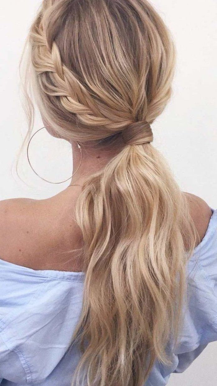 23++ Simple ponytails for long hair trends