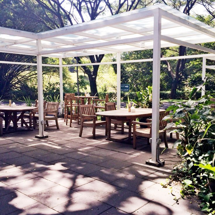 cozy place for take a breakfast right? // photo : me // place : riverside t-food garden, malang, indonesia