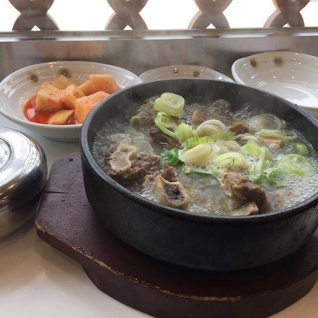 The best soup ever🍖 #bestsoup#korea#korean#trip#meat#soup#food#tasty#yummy#koreanfood#pork#rib#ribs#hot#love#排骨湯#韓國#旅行#愛#おいしい#うまし#嬉しい#料理#韓国#肉#スペアリブ#スープ#맛있다#짱맛#맛있어