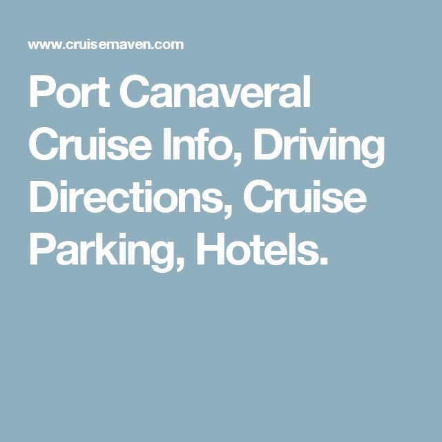 Car Rentals Near Port Canaveral: 25+ Best Ideas About Driving Directions On Pinterest