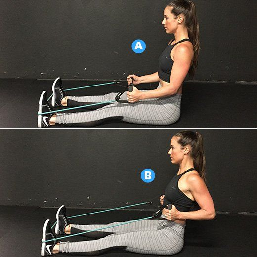 1000+ Images About Resistance Band Exercise On Pinterest