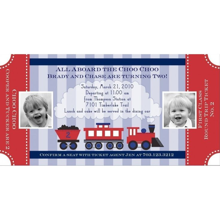 7 best Choo Choo Train Party Inspiration images on Pinterest - fake ticket maker