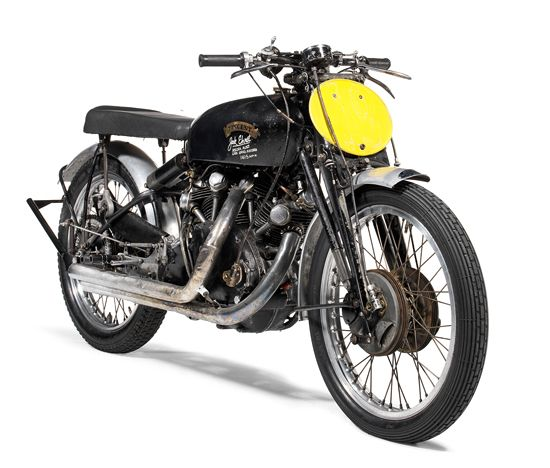 Jack Ehret's 1951 Vincent Black Lightning