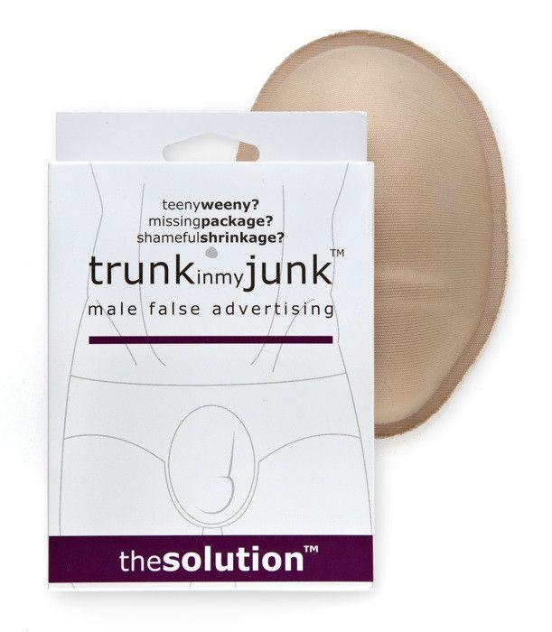 Trunk in my Junk: male false advertising