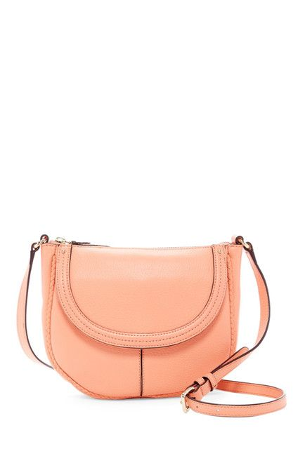 Image of Cole Haan Tali Saddle Leather Crossbody