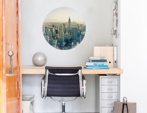 Wall decal of New York City