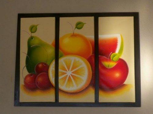 Cuadros de frutas para cocina - Imagui